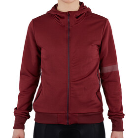 Sportful Giara Hoodie Women, red wine